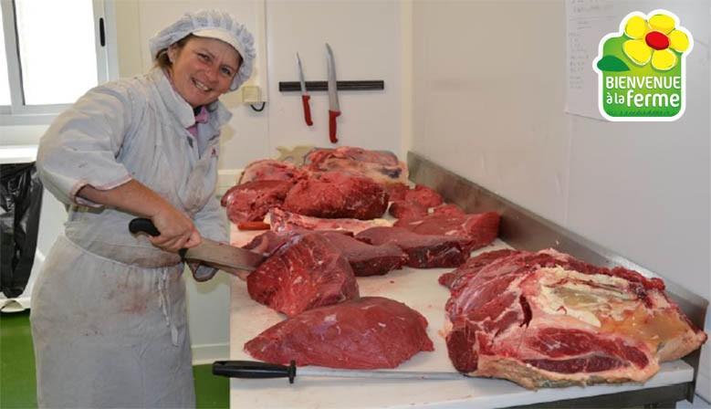 Laboratoire pour la découpe de la viande